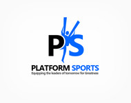 "Platform Sports "" Equipping the leaders of tomorrow for Greatness."" Logo - Entry #20"