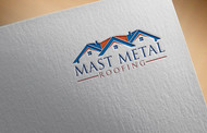 Mast Metal Roofing Logo - Entry #12
