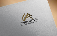 Revolution Roofing Logo - Entry #587