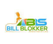 Bill Blokker Spraypainting Logo - Entry #182