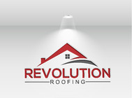 Revolution Roofing Logo - Entry #190