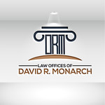 Law Offices of David R. Monarch Logo - Entry #28