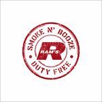 Rams Duty Free + Smoke & Booze Logo - Entry #297