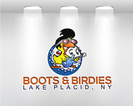Boots and Birdies Logo - Entry #61