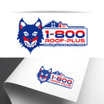 1-800-Roof-Plus Logo - Entry #23