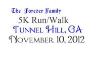 The Forever Family 5K Logo - Entry #1
