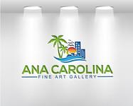 Ana Carolina Fine Art Gallery Logo - Entry #232