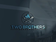 Two Brothers Roadhouse Logo - Entry #114