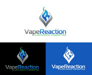 Vape Reaction Logo - Entry #163