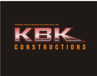 KBK constructions Logo - Entry #101