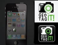 Android/iOS GPS/Photo tagging App Icon Logo - Entry #55