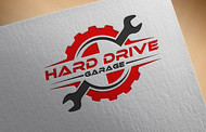 Hard drive garage Logo - Entry #162