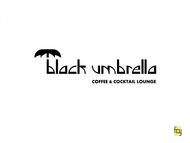 Black umbrella coffee & cocktail lounge Logo - Entry #18