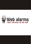 Logo for WebAlarms - Alert services on the web - Entry #58