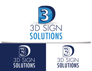 3D Sign Solutions Logo - Entry #193