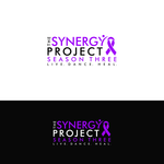"""The Synergy Project"" and place the word ""season three"" underneath in smaller front either as "" season 3"" or ""season three"" Logo - Entry #121"