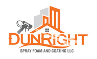 Dun Right Spray Foam and Coating LLC Logo - Entry #89
