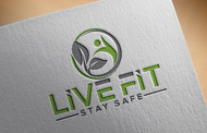 Live Fit Stay Safe Logo - Entry #104