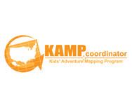 KAMPcoordinator : Kids' Adventure Mapping Program   Logo - Entry #22