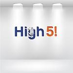 High 5! or High Five! Logo - Entry #122
