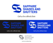 Sapphire Shades and Shutters Logo - Entry #100