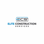 Elite Construction Services or ECS Logo - Entry #326