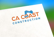 CA Coast Construction Logo - Entry #123