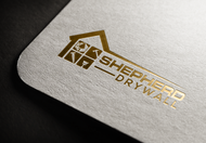 Shepherd Drywall Logo - Entry #143