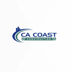 CA Coast Construction Logo - Entry #55