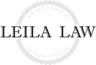Leila Law Logo - Entry #42