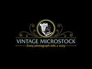 Vintage Microstock Logo - Entry #107