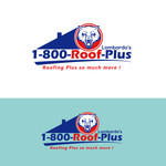1-800-Roof-Plus Logo - Entry #38