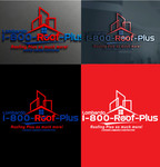 1-800-Roof-Plus Logo - Entry #60