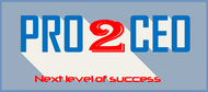 PRO2CEO Personal/Professional Development Company  Logo - Entry #109