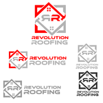 Revolution Roofing Logo - Entry #364