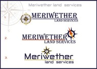 Meriwether Land Services Logo - Entry #33