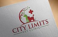 City Limits Vet Clinic Logo - Entry #363