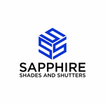 Sapphire Shades and Shutters Logo - Entry #13