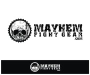 Mayhem Fight Gear.com Logo - Entry #27