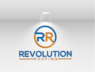 Revolution Roofing Logo - Entry #213