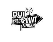 DUI Checkpoint Finder Logo - Entry #77