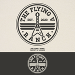 The Flying V Ranch Logo - Entry #50