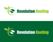 Revolution Roofing Logo - Entry #119