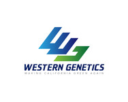 Western Genetics Logo - Entry #89