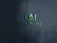 Growing Little Minds Early Learning Center or Growing Little Minds Logo - Entry #131