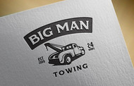 Big Man Towing Logo - Entry #46