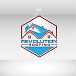 Revolution Roofing Logo - Entry #87