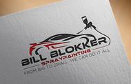 Bill Blokker Spraypainting Logo - Entry #66