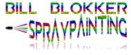 Bill Blokker Spraypainting Logo - Entry #199