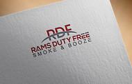 Rams Duty Free + Smoke & Booze Logo - Entry #83